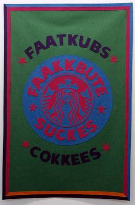 We are Plastique Fantastique, Staabucks Fukkee is your enemy!