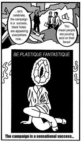 Plastique Fantastique comic