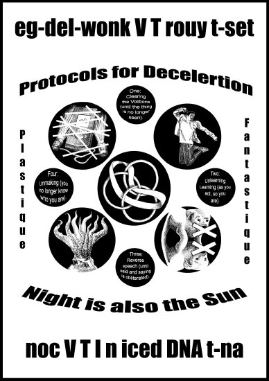 Protocols for Deceleration: Night is also a Sun