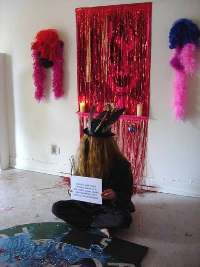 Plastique Fantastique 24 Hour Puja For The-People-Yet-To-Come